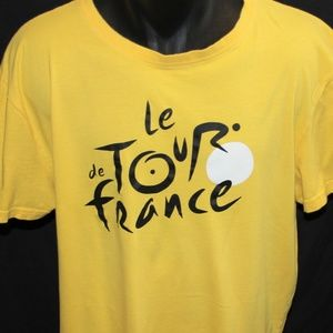 Authentic Le Tour de France Cotton Crew Neck L/XL